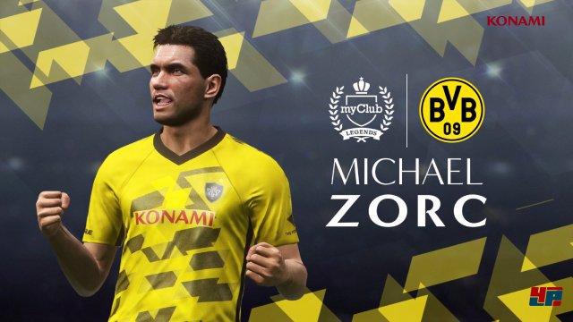 """Konami hat einige """"Legenden"""" des BVB sowie Liverpool als spielbare Figuren integriert, darunter auch Lars Ricken und Michael Owen."""