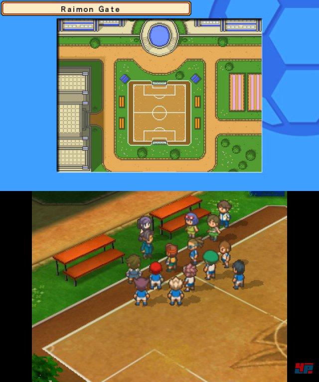 Screenshot - Inazuma Eleven 3: Team Oger greift an! (3DS) 92475103