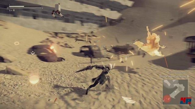 In den Gefechten spielt Platinum Games seine gesamte Expertise aus.