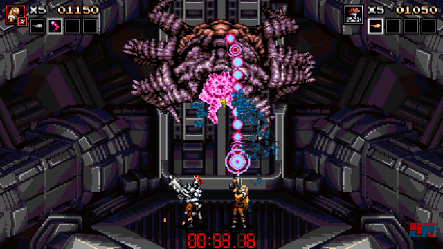Screenshot - Blazing Chrome (PC) 92561639