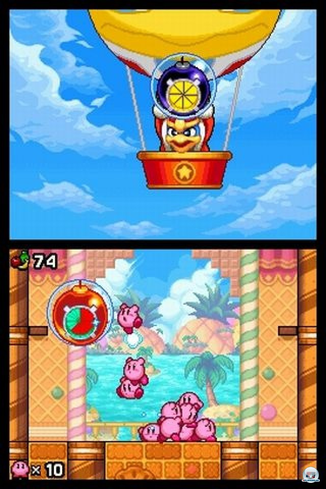 Screenshot - Kirby: Mass Attack (NDS) 2252037