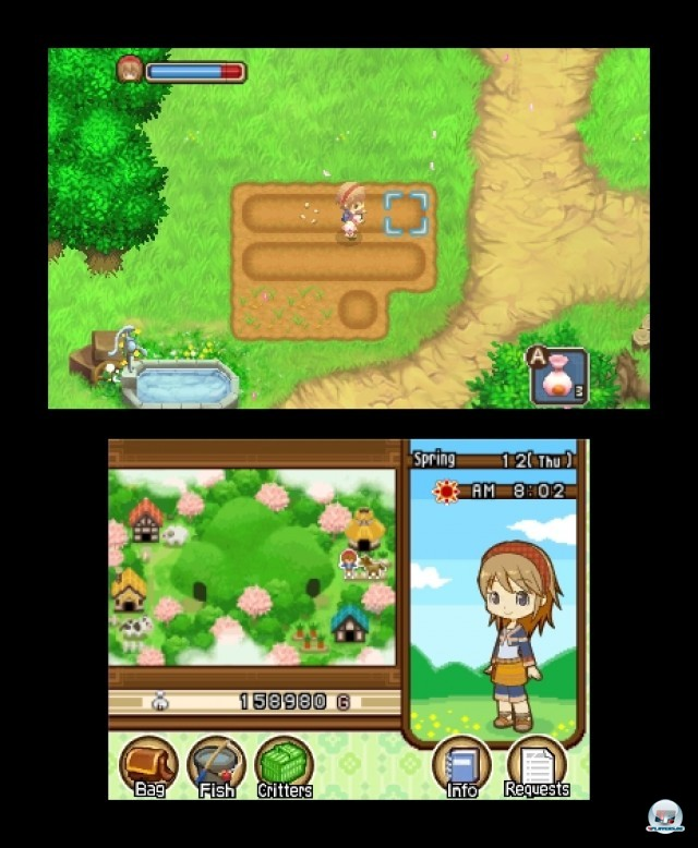 Screenshot - Harvest Moon: The Tale of Two Towns (3DS) 2232148