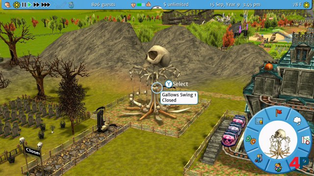 Screenshot - RollerCoaster Tycoon 3: Complete Edition (Switch) 92623664