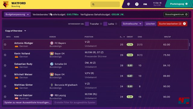 Screenshot - Football Manager 2019 Touch (Switch)