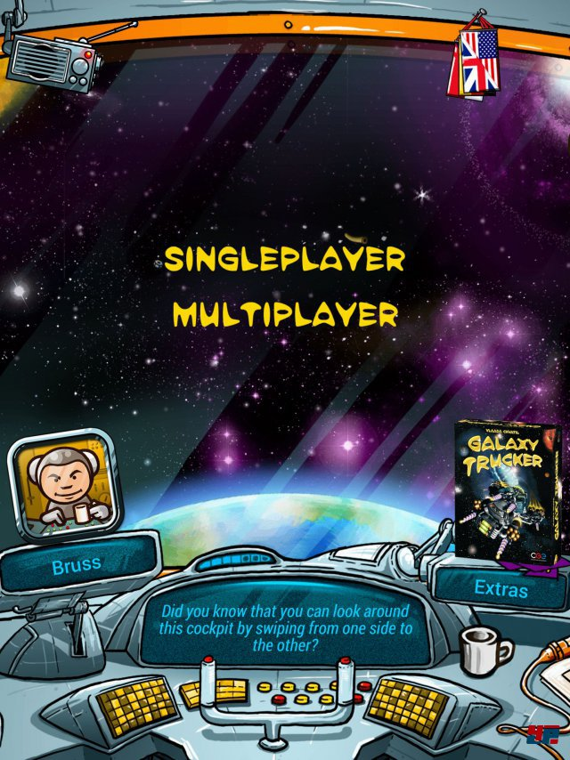 Screenshot - Galaxy Trucker (iPad)
