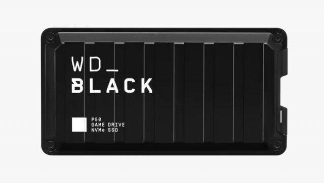 Das schwarze Aluminium-Gehäuse ist mit einem weißen Aufdruck versehen.