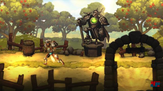 Screenshot - SteamWorld Quest: Hand of Gilgamech (Switch)