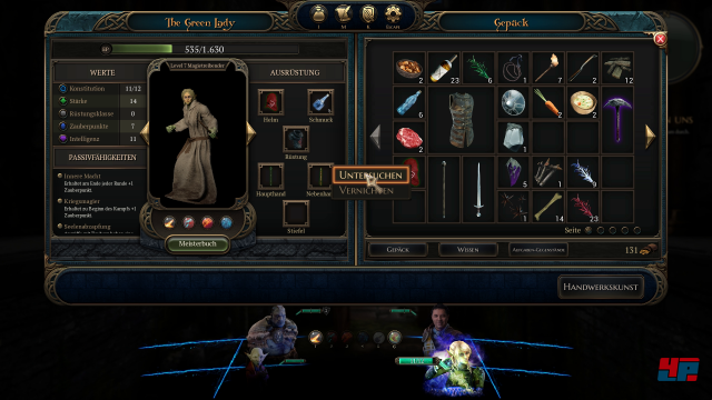 Screenshot - The Bard's Tale 4: Barrows Deep (PC) 92574227