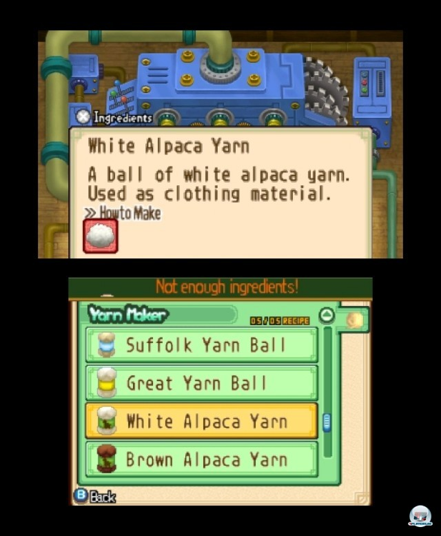 Screenshot - Harvest Moon: The Tale of Two Towns (3DS) 2232292