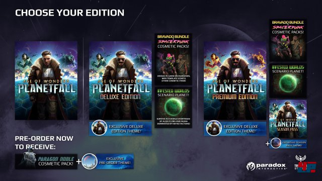 Screenshot - Age of Wonders: Planetfall (PC)