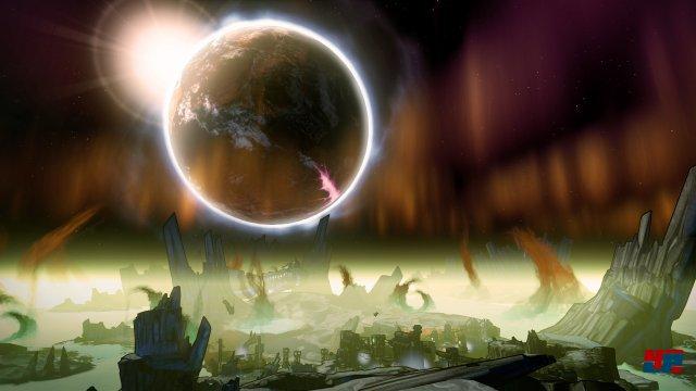 Pandora liegt diesmal in weiter Ferne: The Pre-Sequel spielt auf dem Satelliten des Planeten.