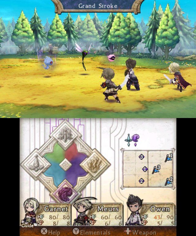 Screenshot - The Legend of Legacy (3DS) 92506620