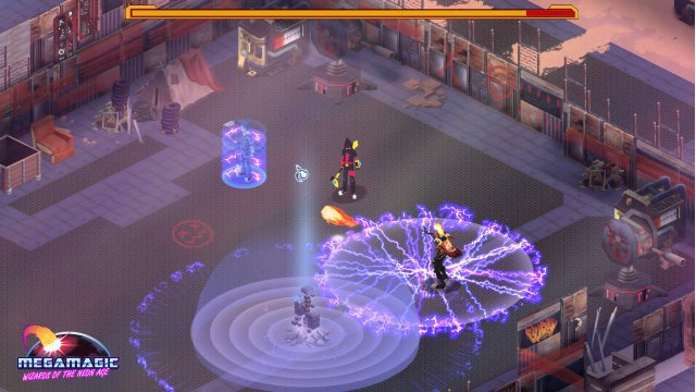 Screenshot - Megamagic: Wizards of the Neon Age (Linux) 92524500