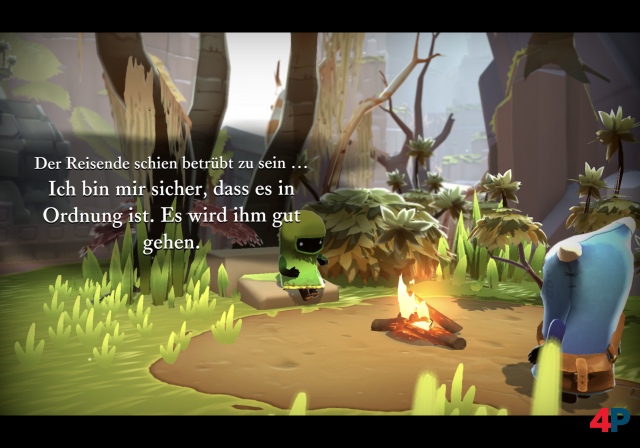 Screenshot - The Last Campfire (iPad)