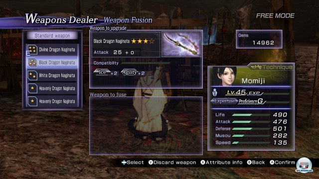 Screenshot - Warriors Orochi 3 (Wii_U)