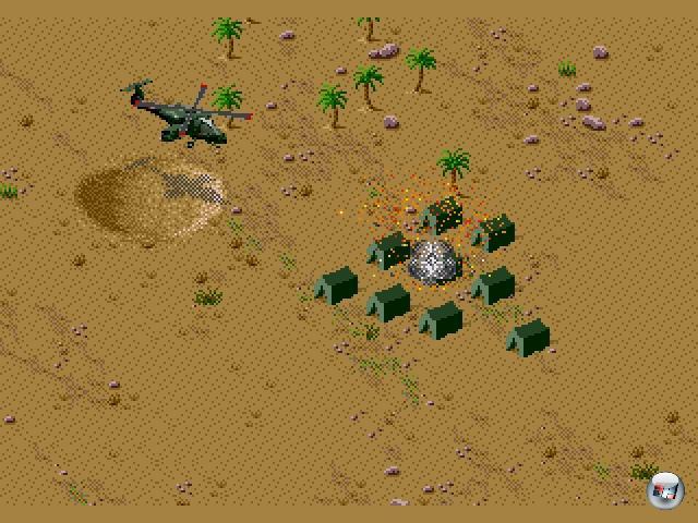 <br><br>...Desert Strike (1991) - das zu seiner Zeit zwar nicht ohne Grund für Kontroversen sorgte, aber eine unglaublich spannende und ausgefuchste Mischung aus Action und Strategie bot... 1876108