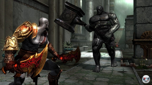 Im dritten Teil der God of War-Reihe wird es nicht nur darum gehen die verbliebenen olympischen Götter aus dem Weg zu räumen und auf dem Weg so viele Gorgonenaugen und Phönixfedern zu sammeln wie möglich. 2072163