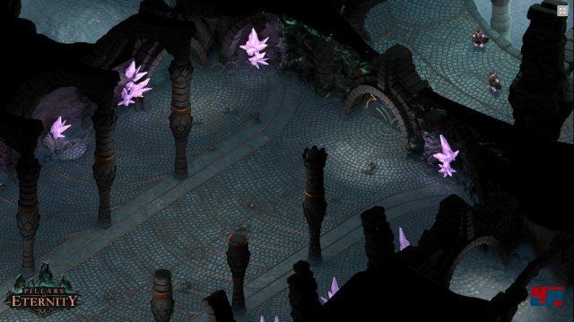 Pillars of Eternity<br><br>... geht es Obsidian, die fast genauso viel Geld für ein Abenteuer erhielten, das an Baldur's Gate, Planescape Torment oder Icewind Dale erinnern soll. Um erwachsene Themen soll es in dem umfangreichen Universum gehen. Und immerhin: Josh E. Sawyer (Icewind Dale), Tim Cain (Fallout) sowie Chris Avellone (Planescape: Torment) arbeiten an dem Projekt. 92474813