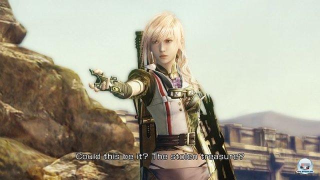 <b>Lightning Returns: Final Fantasy XIII (4. Quartal 2013)</b> <br><br> Square Enix will das finale Kapitel in der Geschichte von Final-Fantasy-Protagonistin Lightning erzählen. Man schlüpft ein letztes Mal in ihre Rolle, um die Welt vor der völligen Zerstörung zu bewahren. 500 Jahre sind während ihres Kristallschlafs vergangen; es bleiben nur noch 13 Tage bis zur Apokalypse. Das Kampfsystem entspricht dem aus den Vorgängern, Lightning kann sich als einziger spielbarer Charakter aber freier bewegen. 92459003