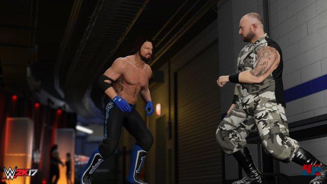 Wieder da: Kämpfe in den Backstage-Bereichen.
