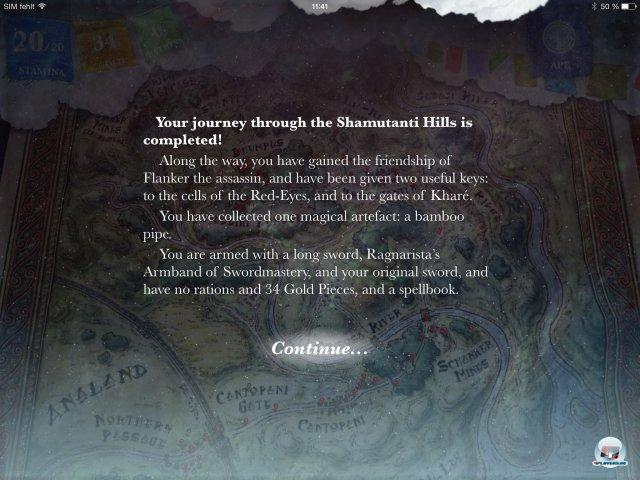 Screenshot - Sorcery! - Teil 2 (iPad) 92471925