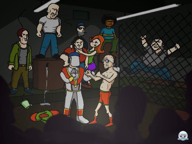 Screenshot - Da New Guys: Day of the Jackass (PC)