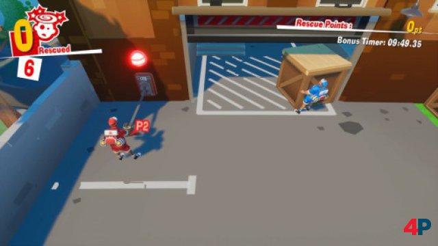 Screenshot - The Strechers (Switch)