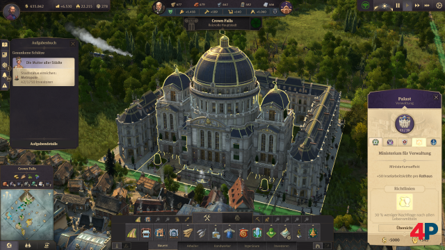 Screenshot - Anno 1800: Paläste der Macht (PC) 92609100