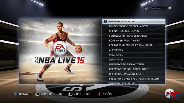 Screenshot - NBA Live 15 (PlayStation4)
