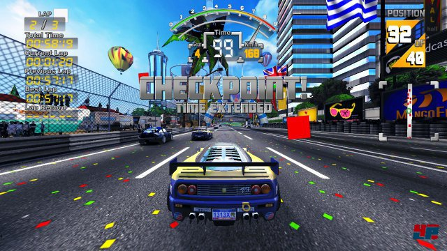 Screenshot - The 90's Arcade Racer (PC) 92549524