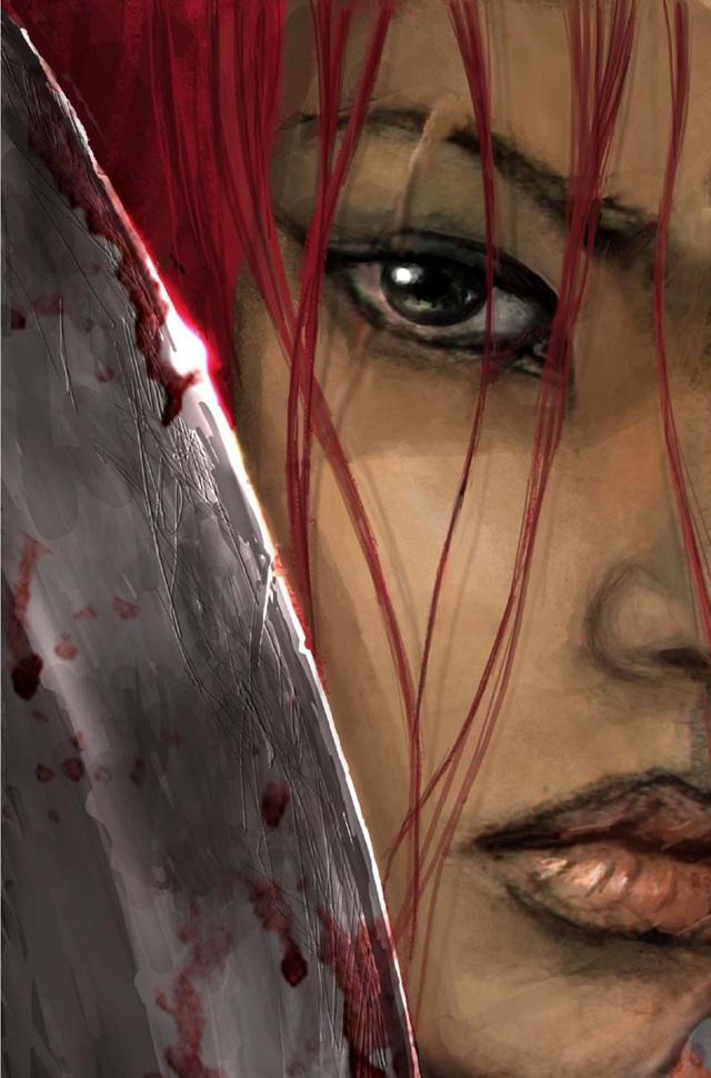 Nariko  <br><br> Rote Haare, ein entschlossener Blick und ein mächtiges Schwert in der Hand: Nariko aus Heavenly Sword ist eine echte Kriegerin und wäre damit sicher eine gute Partie für den Spartaner Kratos. Wer da wohl die Pantoffeln im Haus anhätte?  2146983