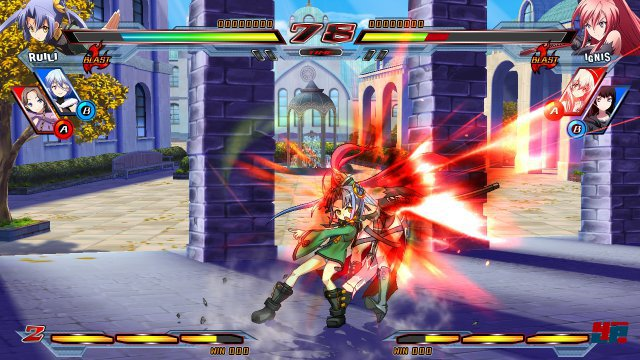 Screenshot - Nitroplus Blasterz: Heroines Infinite Duel  (PlayStation3) 92506825