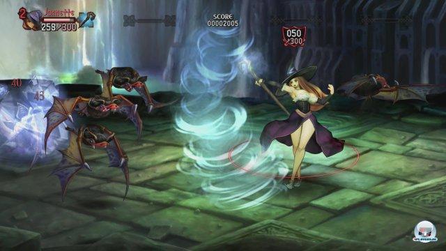 Die sechs zur Verfügung stehenden Figuren spielen sich angenehm unterschiedlich.