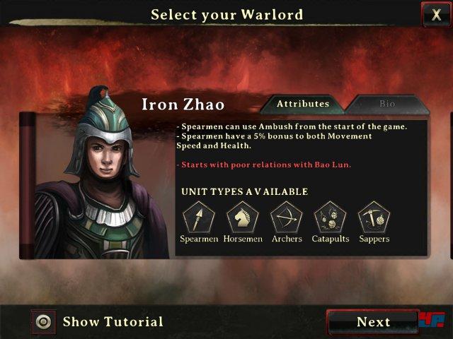 Screenshot - Autumn Dynasty Warlords (iPad)