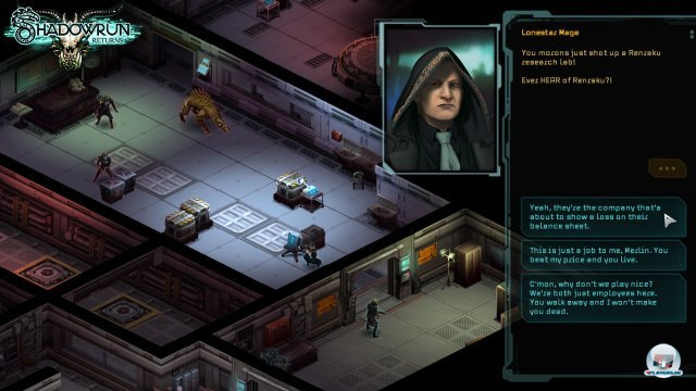 Screenshot - Shadowrun Returns (Android) 92456839