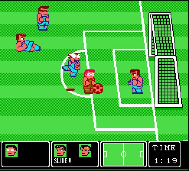 Screenshot - Nintendo World Cup (NES)