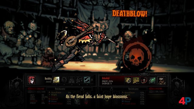 Screenshot - Darkest Dungeon (Linux)