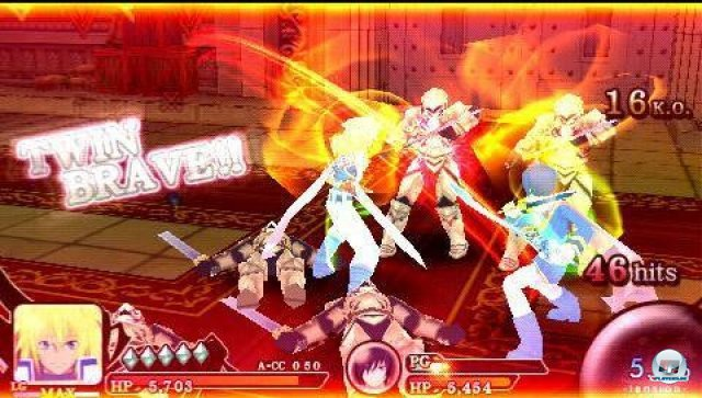 Screenshot - Tales of the Heroes: Twin Brave (PSP) 2315207