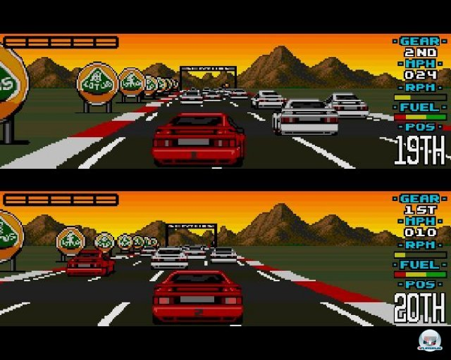Screenshot - Lotus Esprit Turbo Challenge (PC)