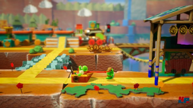 Screenshot - Yoshi's Crafted World (Switch)