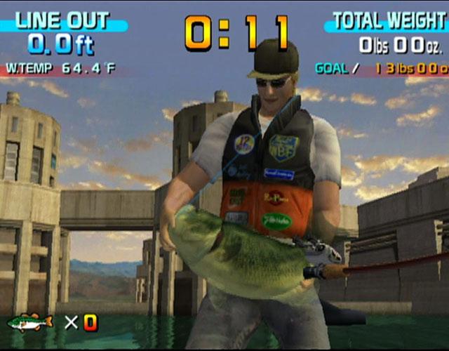 Sega Bass Fishing <br><br> Schlimmer als jede Lichtpistole ist der Angel-Controller, mit dem man in Sega Bass Fishing sowie anderen glitschigen Mordsimulationen die armen Meeres-, Fluss- und Seebewohner zum reinen Vergnügen (und für die Highscore) regelrecht mit fiesen Ködern aufspießt. Das ist mindestens genau so eklig wie der Fisch an sich!  2192572