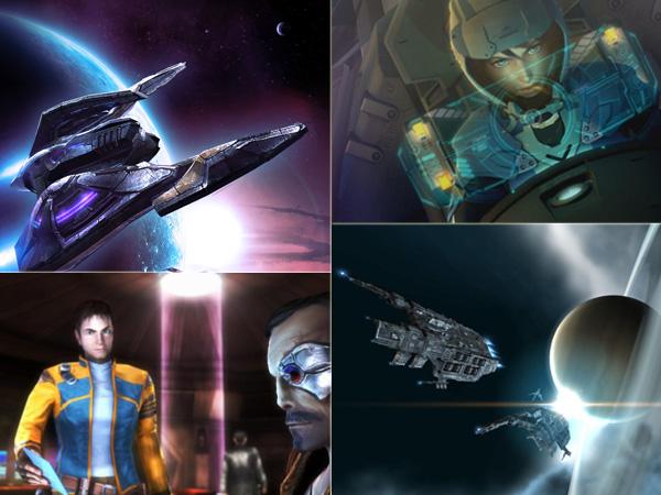 <b>Wackere Untote</b><br><br>Das Genre liegt vielleicht in den letzten Zügen, aber es gibt sie noch: mutige Außenseiter, die mit unterschiedlicher Gewichtung das intergalaktische Markttreiben oder die frenetische Lasershow am Leben erhalten. Allen voran – und wenn auch ohne aktive Raumschiff-Steuerung – zeigt Eve Online mit vehementer Beständigkeit, dass Elite auch in einer riesigen Onlinewelt funktionieren kann! Tarr Chronicles bewies mitsamt seinem Nachfolger hingegen, dass nervöse Zeigefinger auch in der Zukunft ein Wörtchen mitreden könnten. Und nicht zuletzt hielten auch die Konfetti-Schlachten eines Project Sylpheed oder das klassischere Darkstar One die Fahnen der Weltraumopern nach oben. Bleibt nur zu hoffen, dass diese auch weiterhin sichtbar bleiben und nicht endgültig im Stummfilm-Nirvana verschwinden. 2059448