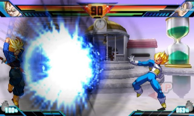 Screenshot - Dragon Brall Z: Extreme Butoden (3DS)