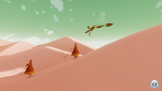 Screenshot - Journey (PlayStation3) 2227547