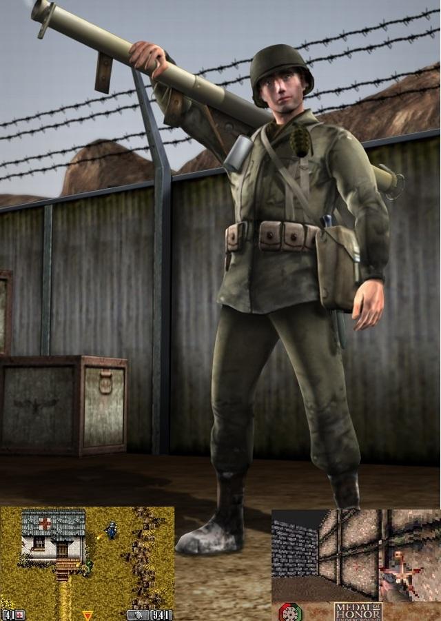 Handheld-Versionen <br><br> Hmmm, wenn es ein Medal of Honor: Heroes 2 gibt, müsste es eigentlich auch ein Medal of Honor: Heroes geben. Richtig - und das erschien Ende 2006 exklusiv für die PSP. Wie beim Nachfolger erlaubte der Ego-Shooter bereits Online-Partien mit bis zu 32 Spielern. Zusätzlich gab es drei Kampagnen mit altbekannten Hauptfiguren der Serie. Nach der desaströsen GBA-Umsetzung von Underground entschied man sich 2003 bei Medal of Honor: Infiltrator für einen neuen Ansatz und zeigte die Action für den GBA aus der Vogelperspektive.  2167463