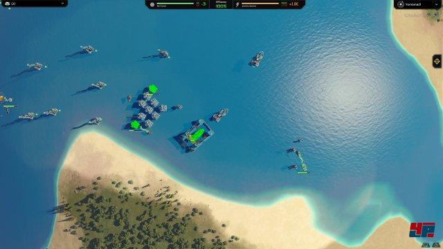 Zu Land, im Wasser und in der Luft. Es können alle Waffengattungen ins Feld geführt werden.