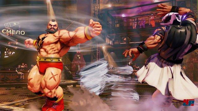 Der aufpolierte Comic-Look sieht noch besser aus als im Vorgänger - der Wow-Effekt aus Street Fighter 4 stellt sich jedoch nur noch selten ein.