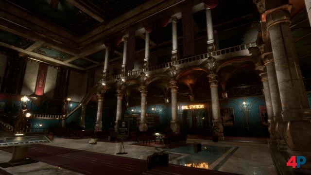 Stilistisch und auch erzählerisch erinnert vieles auf der Helios an BioShock.