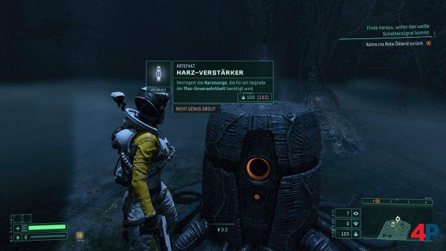 Überall gibt es Alien-Technologie, die man erstmal ausprobieren muss...