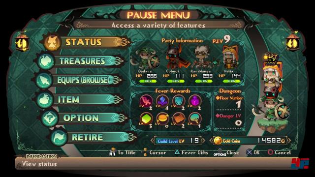 Screenshot - Lapis x Labyrinth (PS4) 92588415